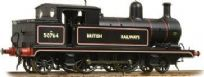 "Bachmann 31-170 L&YR 2-4-2T 50764 BR Black Lined ""British Railways"""